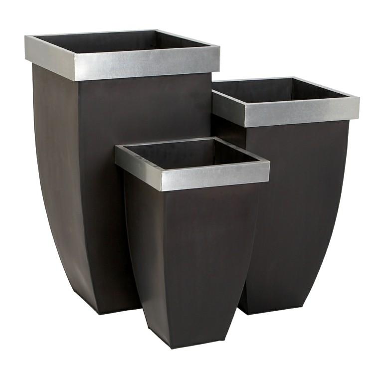 moderno metal borde diseño cintillo
