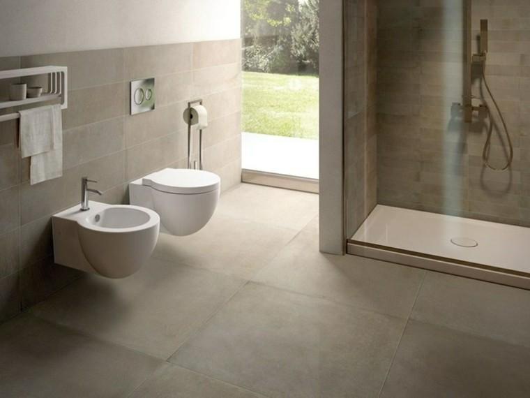 muebles baño redondos ceramica cielo
