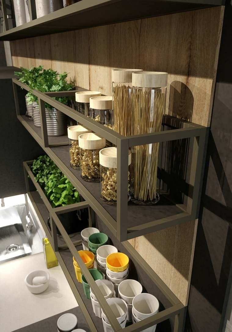 mueble cocina estanteria especias pasta
