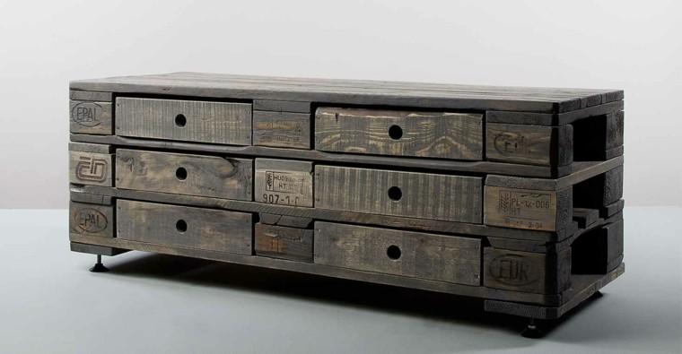 mueble gavetero bajo tratado funcional diseño