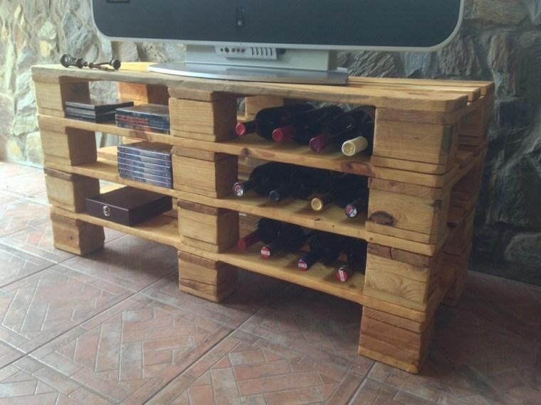 Muebles hechos con palets de madera cincuenta ideas for Muebles hechos con paletas de madera