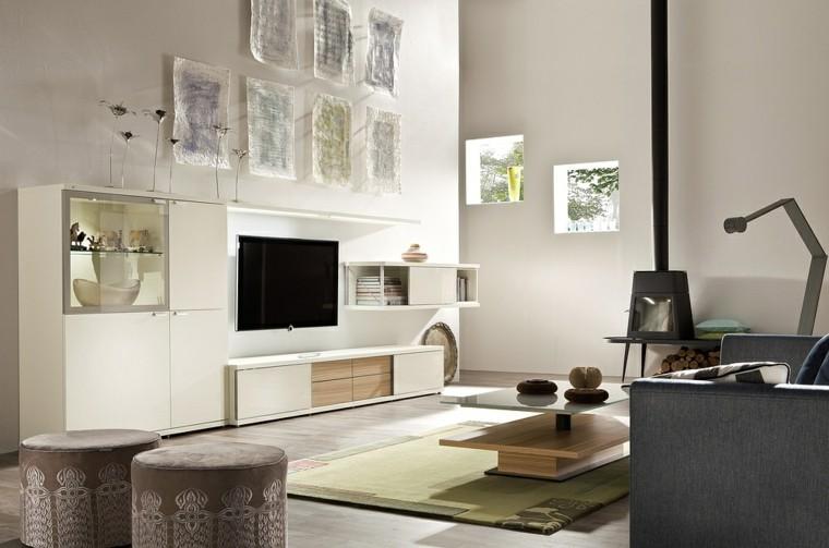Muebles de salon modernos y funcionales menos es m s - Mueblesbonitos com ...