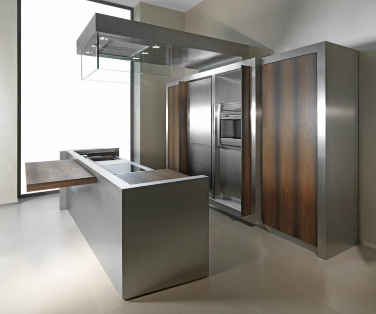 muebles de cocina acero laminado