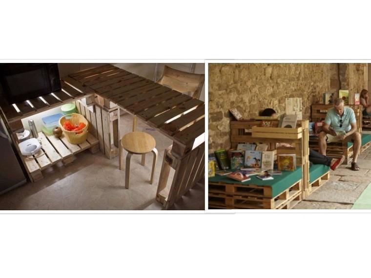 muebles cocina creativo silla luces