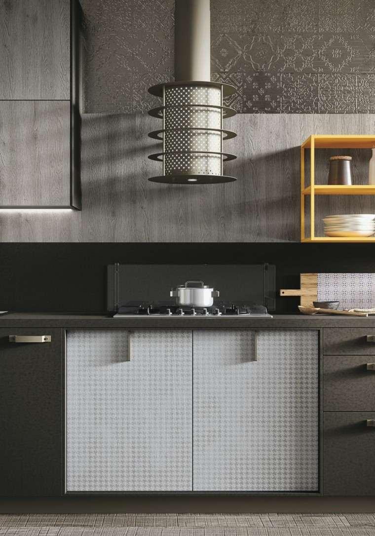 muebles cocina diseño moderno peltro
