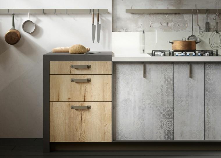 muebles cocina modernos para loft
