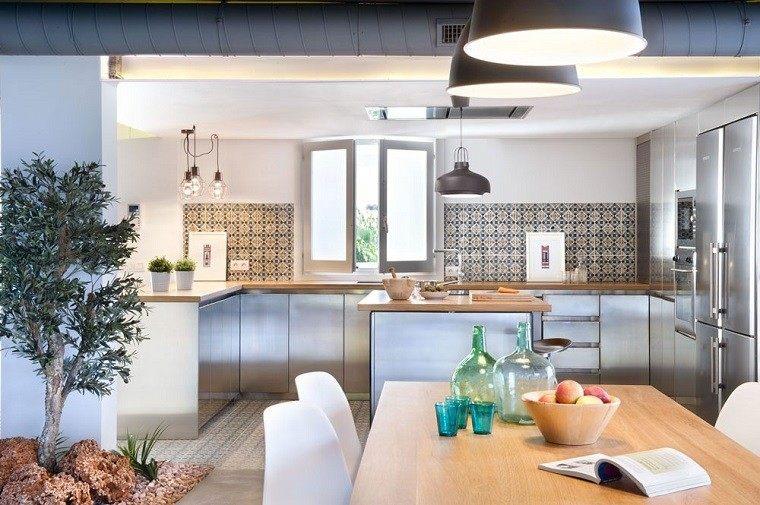 muebles comedor azulejos rústicos cocina