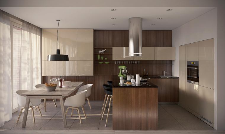 Muebles comedor que te enamorara a primera vista for Colores para cocina comedor