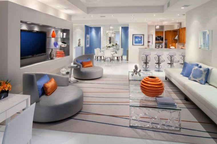 muebles de salon modernos estilo futuro