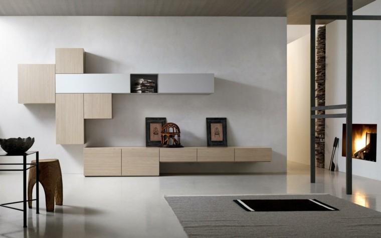 muebles de salon modernos laminado madera