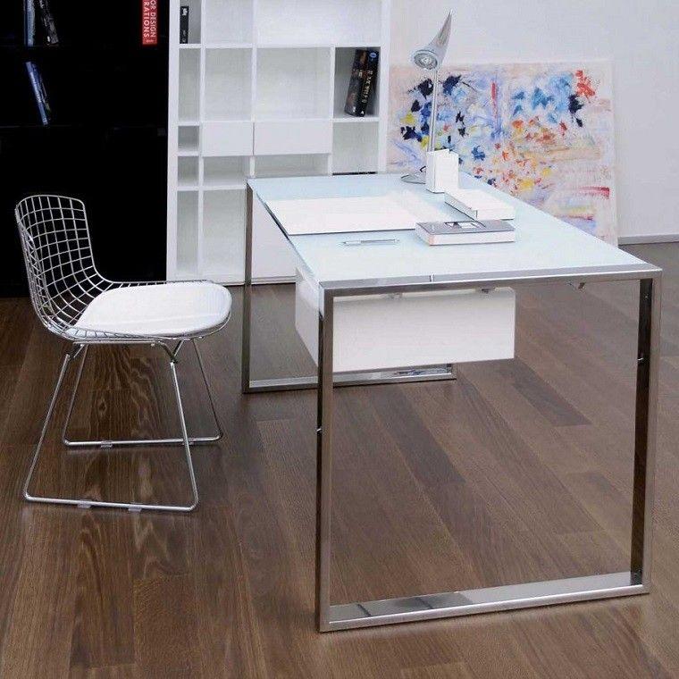 muebles despacho diseño estilo escandinavo
