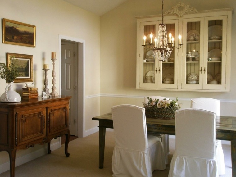 muebles estante blanco velas acogedor