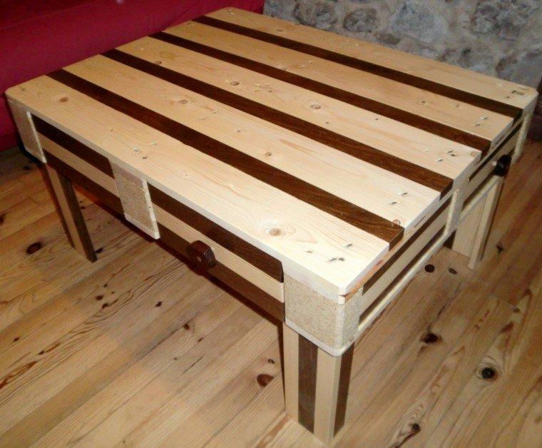 Muebles hechos con palets 100 ideas para el hogar for Construir mesa de madera