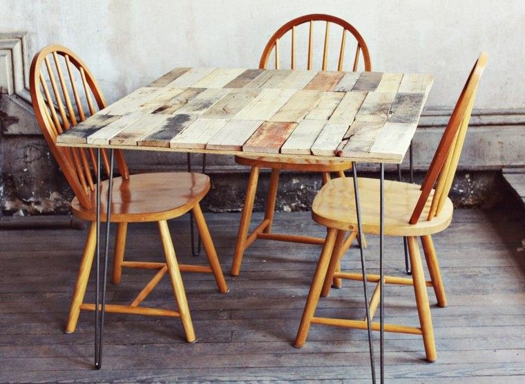 Muebles hechos con palets de madera cincuenta ideas for Cosas hechas con madera