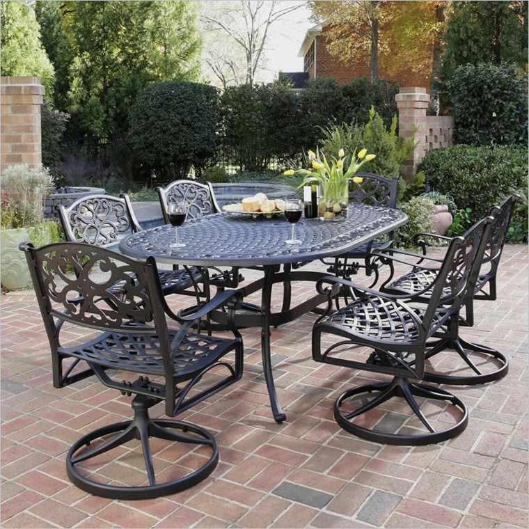 Accesorios jardin adornos muebles y luces de exterior for Comedor para jardin