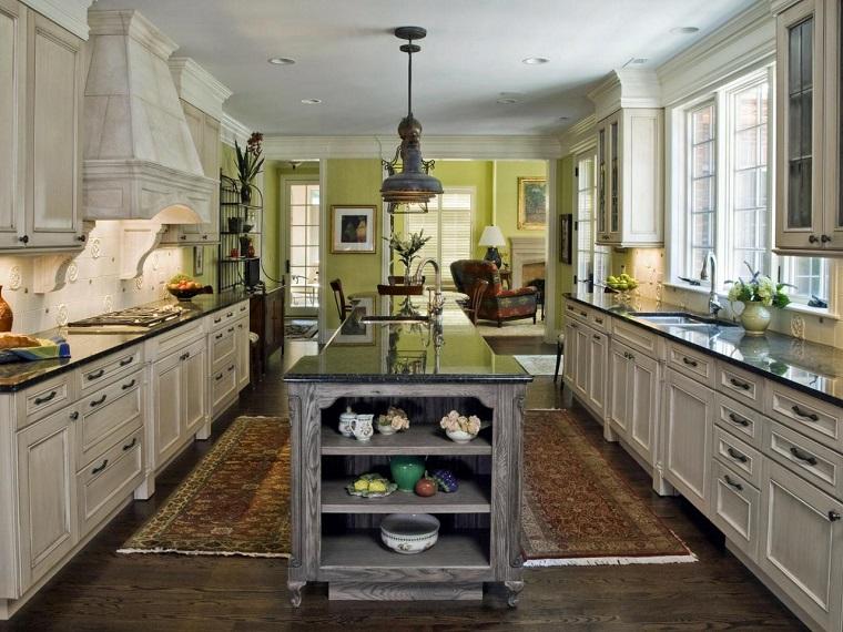 Muebles vintage en la cocina ideas a lo cl sico muy for Muebles de cocina vintage