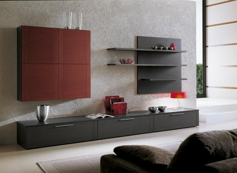 Muebles de salon modernos y funcionales menos es m s - Muebles de salon modernos minimalistas ...