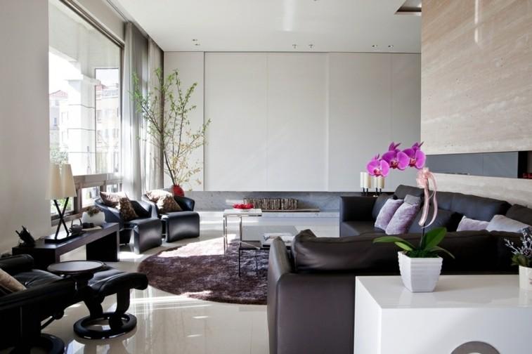 muebles salon piel bonitos