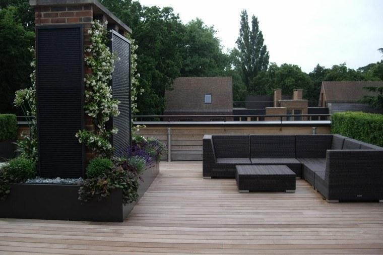 muebles ratan jardin vertical moderno