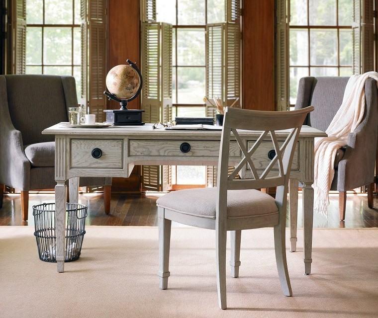 muebles diseño retro zona trabajo