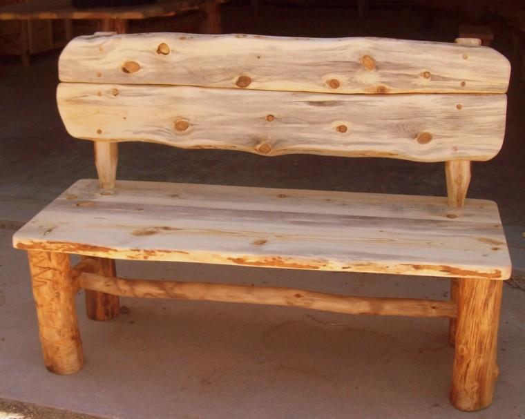 Muebles rusticos aires campestres para todo espacio - Mesas rusticas de cocina ...
