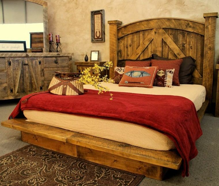 muebles rusticos aires campestres para todo espacio dark rustic bedroom set western king queen free