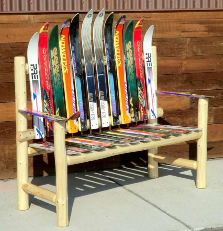 muebles rusticos colorido paletas curvas diseño