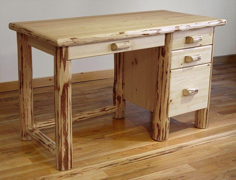 Muebles rusticos aires campestres para todo espacio for Muebles con cajones de madera