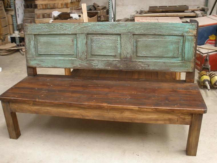 Muebles rusticos aires campestres para todo espacio - Muebles de madera rusticos ...