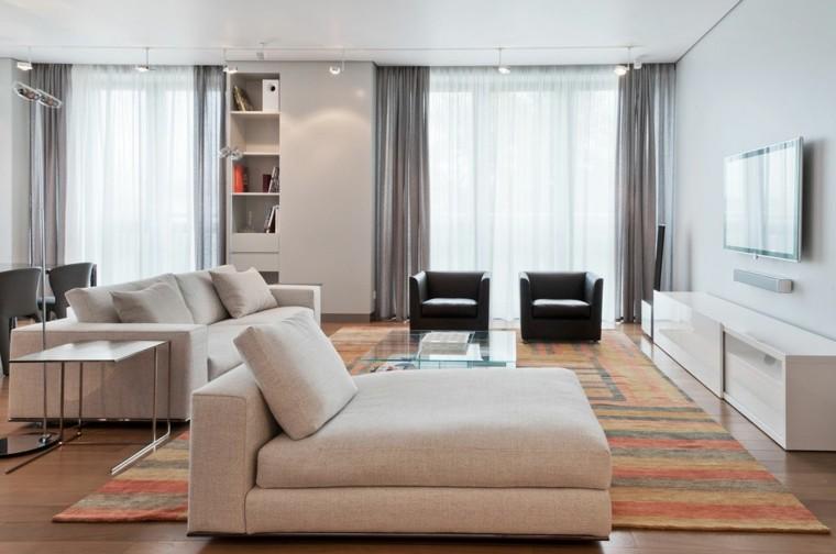 muebles salon modernos color beige