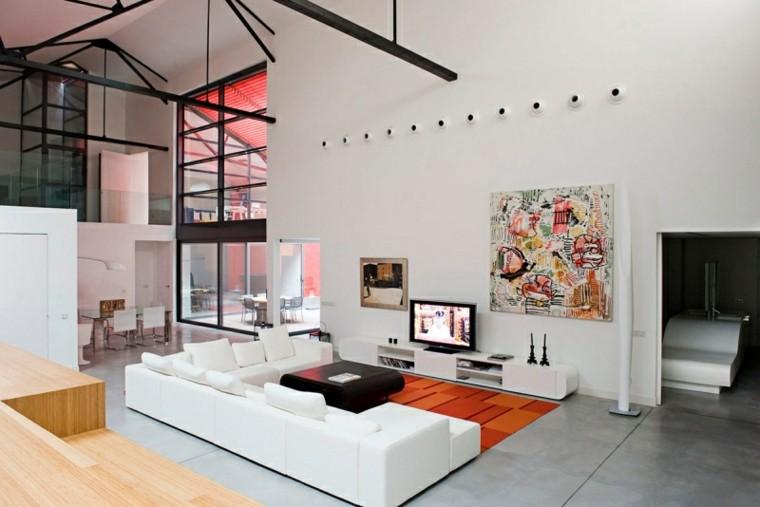 muebles salon moderno decorado arte cuadro ideas