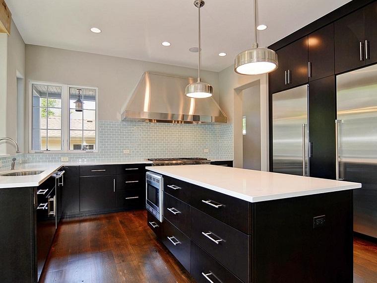 Gabinetes de cocina blancos pasos para pintar los muebles - Muebles cocina 2015 ...