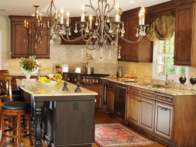 Muebles vintage en la cocina ideas a lo cl sico muy originales - Muebles de cocina retro ...