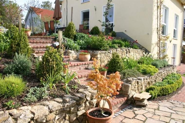 muro casa macetas jardin terrazas diy