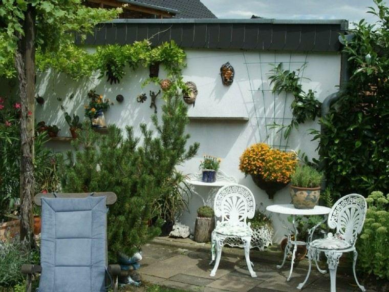 Muros en el jard n 75 ideas que te encantar n for Decorar muro jardin