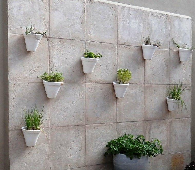 Revestimiento de paredes exteriores 50 ideas for Baldosas para el jardin