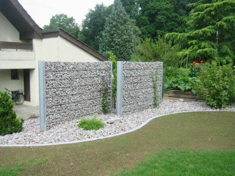 Muros en el jard n 75 ideas que te encantar n Ideas para muros de jardin