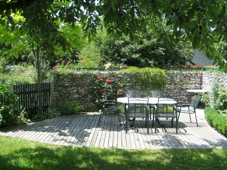 muros jardin rodean lugar comidas ideas