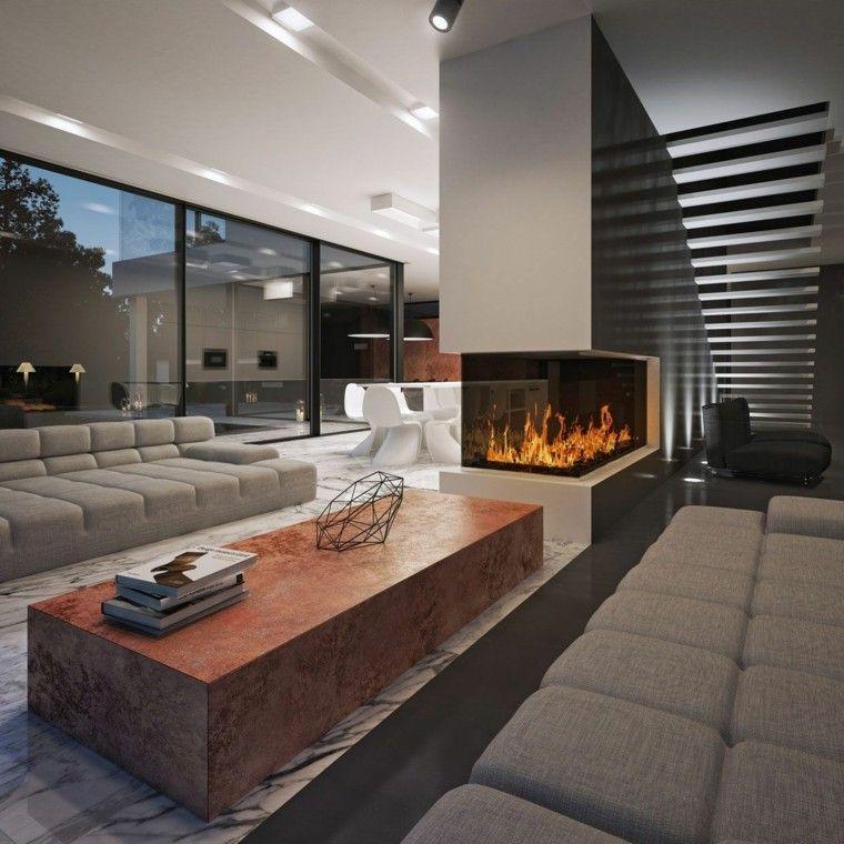 Salones dise o y 50 ideas para crear tu espacio con estilo - Salones de diseno ...