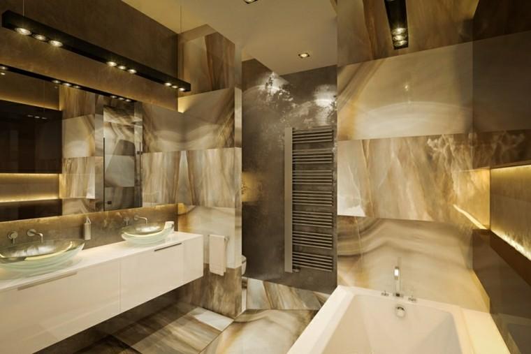 otro baño decoracion dorada