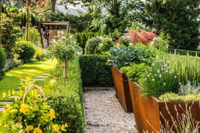 paisaje natural diseño jardin plantas