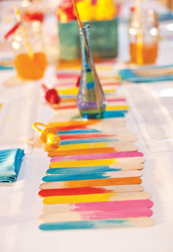 paletas madera pintadas colores deco