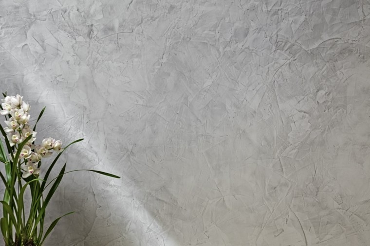pared exterior diseño cemento gris