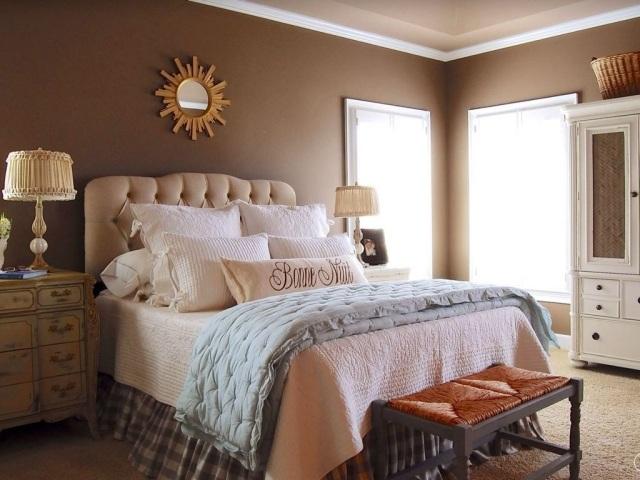 paleta de colores marron espejo sol