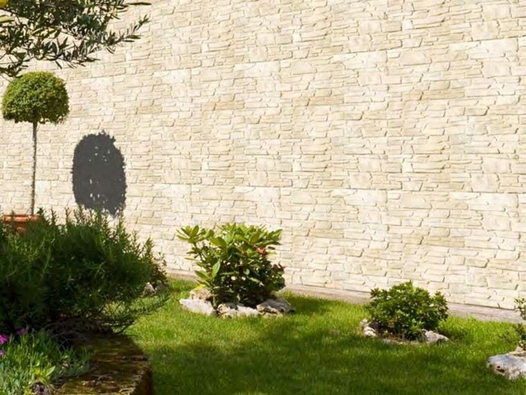 Revestimiento de paredes exteriores 50 ideas for Colores beige para paredes exteriores