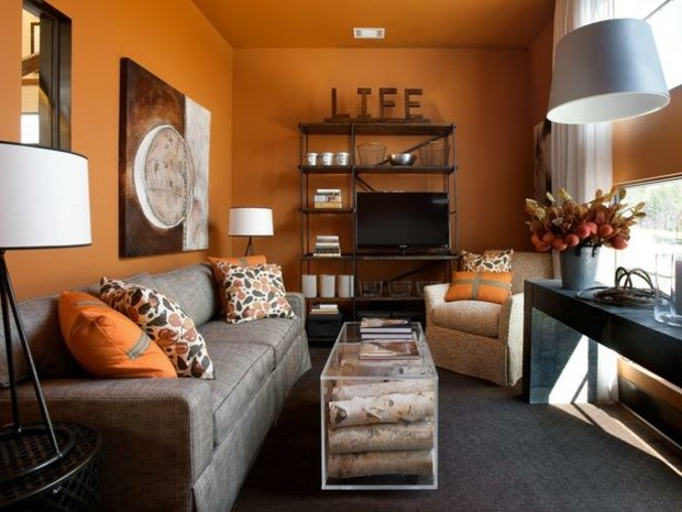 African Themed Living Room