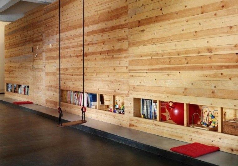 paredes madera colimpio cojines ideas modernas