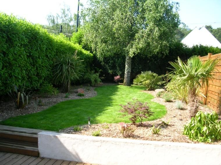 Dise o de jardines peque os y modernos 50 ideas for Exemple de jardin paysager