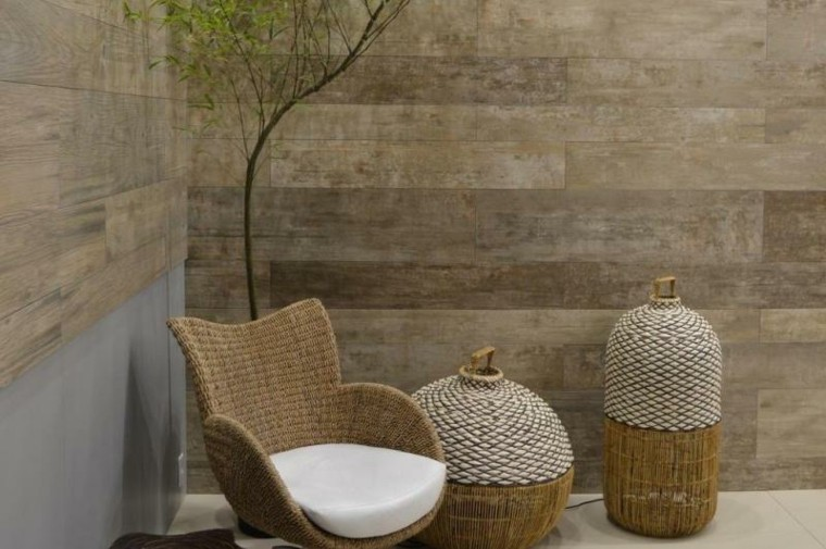 Revestimiento de paredes exteriores 50 ideas for Baldosas patio exterior