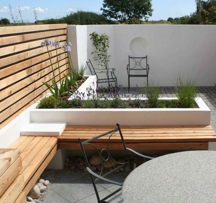 Dise o de jardines peque os y modernos 50 ideas for Dec para terrazas